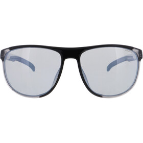 Red Bull SPECT Slide Lunettes de soleil, x'tal grey/smoke with silver flash polarized